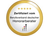Zertifikat Honorarberater