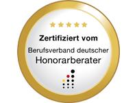 Zertifikat Honorarberater